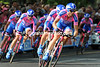 Danilo Hondo helped lead Lampre to 6th place at 24-seconds...