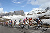 Still more Passo Giau for the group containing Contador..!