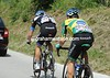 Two of Garmin's men are in trouble with the rapid first hour of racing - Maurilio Fischer and Matthew Wilson...