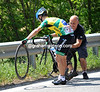 Maurilo Fischer needs a new front wheel from Geoff Brown...