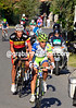 Vincenzo Nibali is about to leave Gilbert and the others for dead as the Madonna del Ghisallo climb starts...