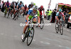 Vicenzo Nibali attacks now - he passes Gilbert but cannot catch Van Avermaet...