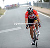 Popovych has attacked on the Cipressa - he prefers going uphill than downhill..!
