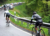Richie Porte slips off the back as well - he won't finish the stage...