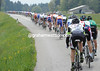 The peloton is riding fast today, at 80-kilometres-per-hour on the flat roads..!