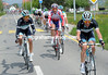 Three Leopard-Trek riders are in a new attempt, led by Pires and Rohregger...