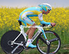 "Alexandre Vinokourov was disappointed in his 22nd place at 1' 14""..."