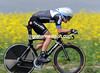 Lean machine - David Zabriskie won the TT at a little over 43-kilometres-per-hour..