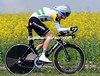 "Cameron Meyer rode his Australia champion colours into 19th place at 1' 06""..."