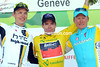 Cadel Evans is the winner of the 2011 Tour de Romandie, with Tony Martin and Alexandre Vinokourov second and third overall..