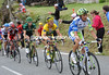 Ivan Baso starts to show himself at the head of the Voeckler group...