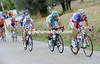 The pace is fast - too fast for escapes like Sylvain Chavanel's to succeed...