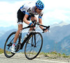 Another ex-mountain-bike rider, Ryder Hesjedal, is chasing hard as well - he'll also join Contador's group...