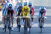 Philippe Gilbert races his Omega Pharma-Lotto team to the finish to take 10th place, 39-seconds down...