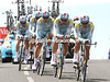 Alexandre Vinokourov played a big role in Astana's 9th place, just 32-seconds off the pace...