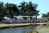 The peloton starts its day near the coast at Olonne-sur-Mer...
