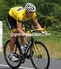 Is Hushovd thinking of climbing with the climbers and keeping his Yellow Jersey today..?