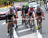 Nine riders have been away right from the start - led by Tejay Van Garderen...