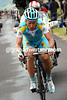 Alexandre Vinokourov has attacked as well - he has teamate Tiralongo waiting for him up the climb...