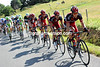 BMC is forced to chase now - the gap has grown to five-minutes with 15-kilometres to go...