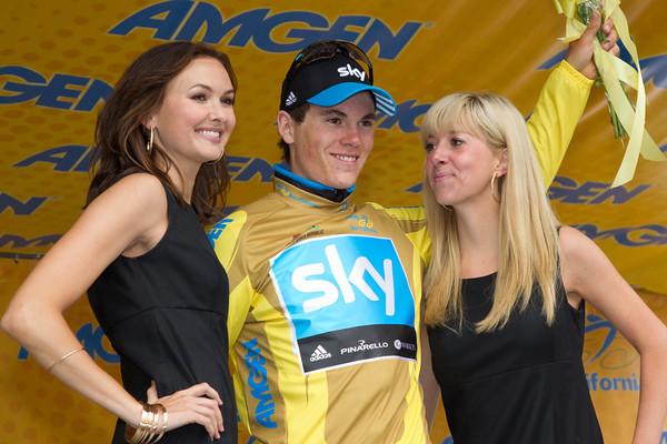 Ben Swift has also won the golden fleece, the Gold race leader's jersey.