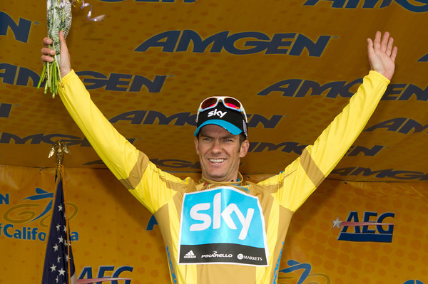 With the win, Greg Henderson takes the overall lead of the Amgen Tour of California after stage 3
