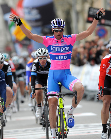 Alessandro Petacchi was the winner of stage two...