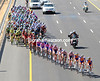 Rabobank is still pounding along at exactly 50-kilometres-per-hour - and they're still four minutes down...