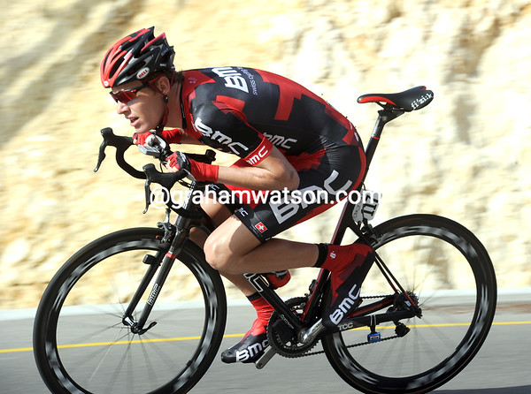 Michael Scar launches into his TT..