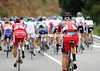 After a rapid uphill start, Taylor Phinney cannot keep in contact - he'll soon abandon his first-ever three-week race...