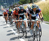 An escape has got away containing two Leopard riders, Linus Gerdemann and Andy Schleck...