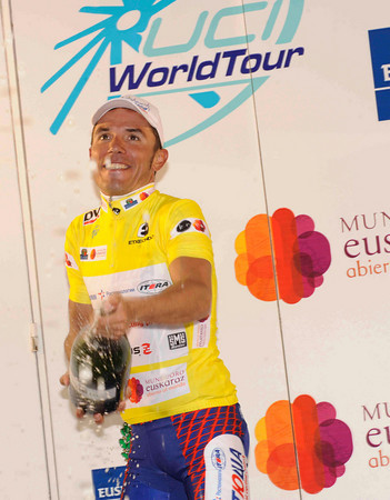 Joachin Rodriguez becomes the race-leader after stage one...