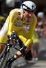 Tejay was inspired by the yellow jersey, but came up 51 seconds short today for the win...
