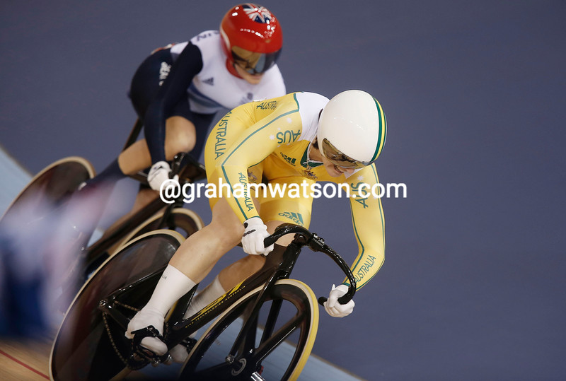 Meares led Pendleton from the front in the second round and won the gold medal