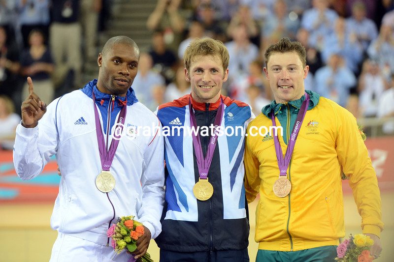 Jason Kenny with Gregory Bauge and Shane Perkins