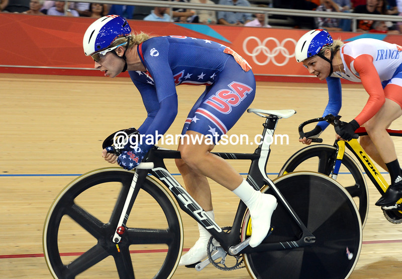 Sarah Hammer gave the USA the silver medal in the womens omnium