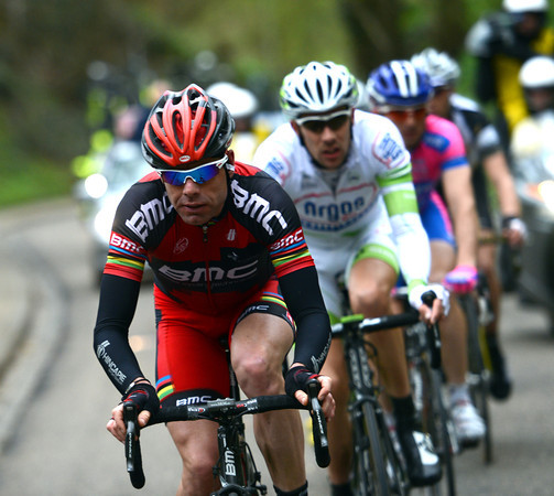 Attention has switched to Cadel Evans, who's been dropped on the Sibbergrubbe...