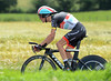 "Andy Schleck had another disastrous time trial - crashing heavily and therefore losing 10' 47"" to the winner..!"