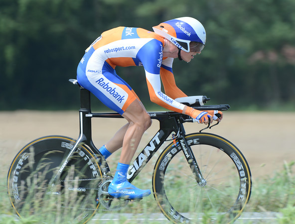 "Wilco Kelderman was the biggest surprise today - the young Dutchamn set fastest time and then settled into a great 4th place, 1' 25"" slower than the winner..."