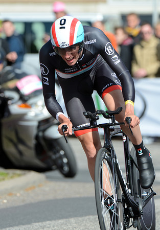 Jesse Sergent rode into 9th place, 26-seconds behind the winner...