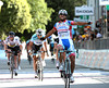 Roberto Ferrari wins stage eleven after out-jumping everyone on the last corner...