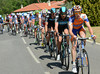 Rabobank also has an interest in a bunch-sprint - so Stef Clement is doing his bit for them...