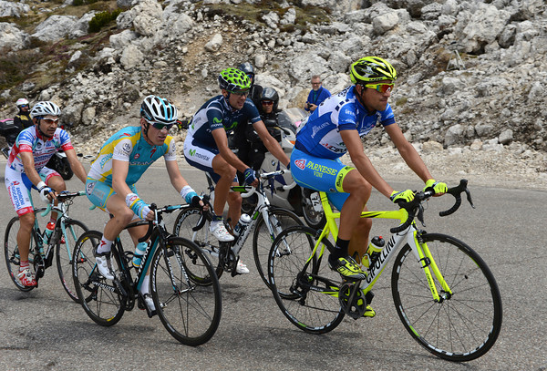 Rabottini is in the escape - he'll pick up climbing points on the next two big climbs..!