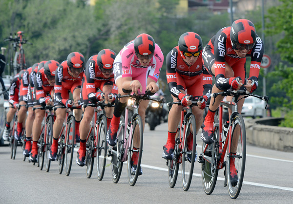 BMC looked faster that their eventual 10th placing, they were 31-seconds down...