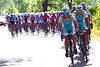 Astana join in the pace-setting with Enrico Gasparotto...