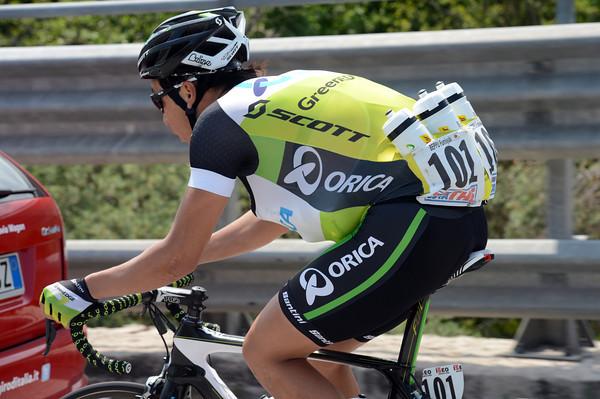 Fumiyuki Beppu is certainly earning his Yen in this Giro..!