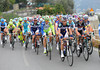 There's no obvious signs of action in the peloton, but the speed has displaced sprinters like Farrar and Cavendish and Petacchi on Le Manie...