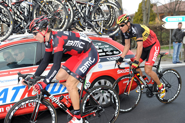 Taylor Phinney is enjoying his first-ever Italian race, albeit in the service of Philippe Gilbert...