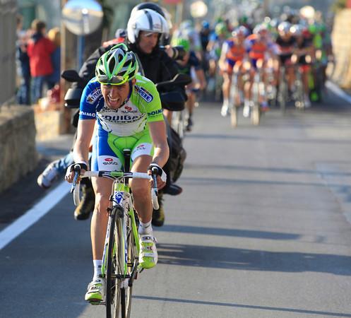 Agnolli makes a big move on the Poggio...