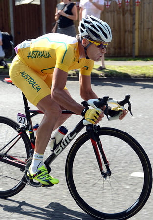 Cadel Evans looks the part for Australia, but has he recovered from the Tour de France..?